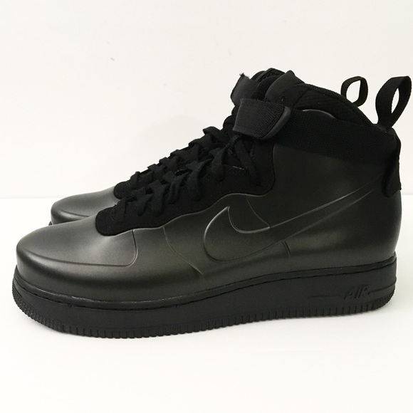 a9a20fec531 Nike Air Force 1 One Foamposite Cup Triple Black